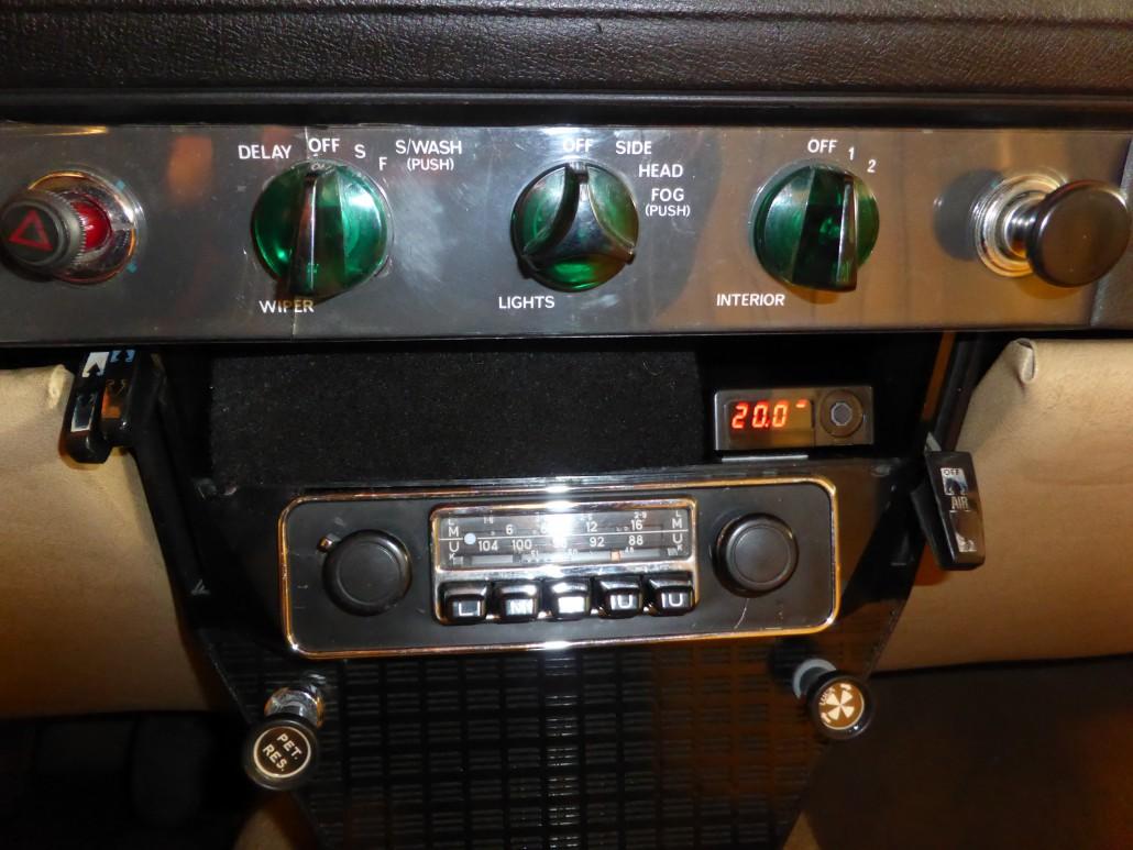 Wide Band Lambda Mywintek Fuel Mixture Display Unit