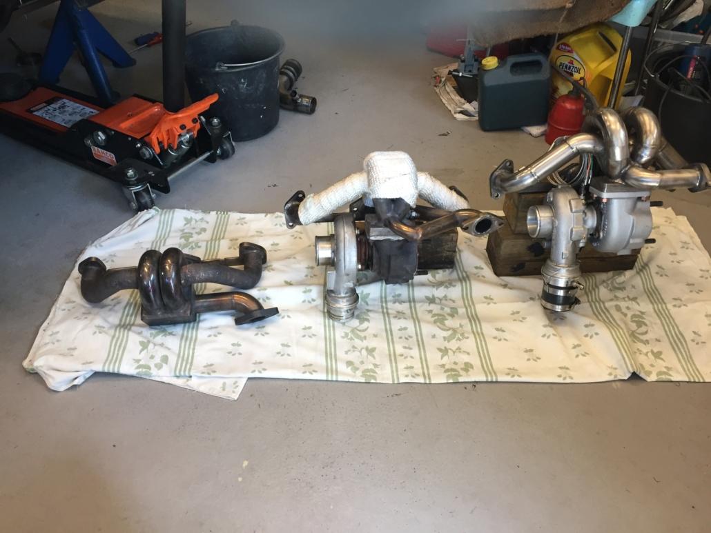 Turbo Manifold's MK1, MK2 and MK3