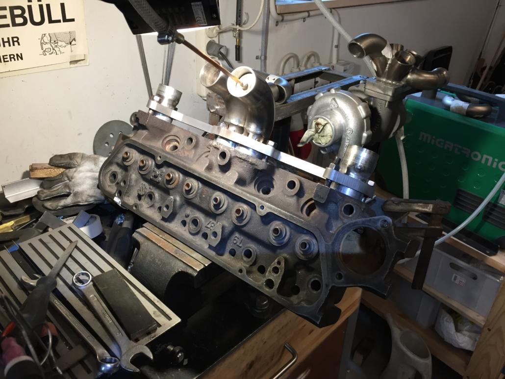 MK3 manifold back purging welding