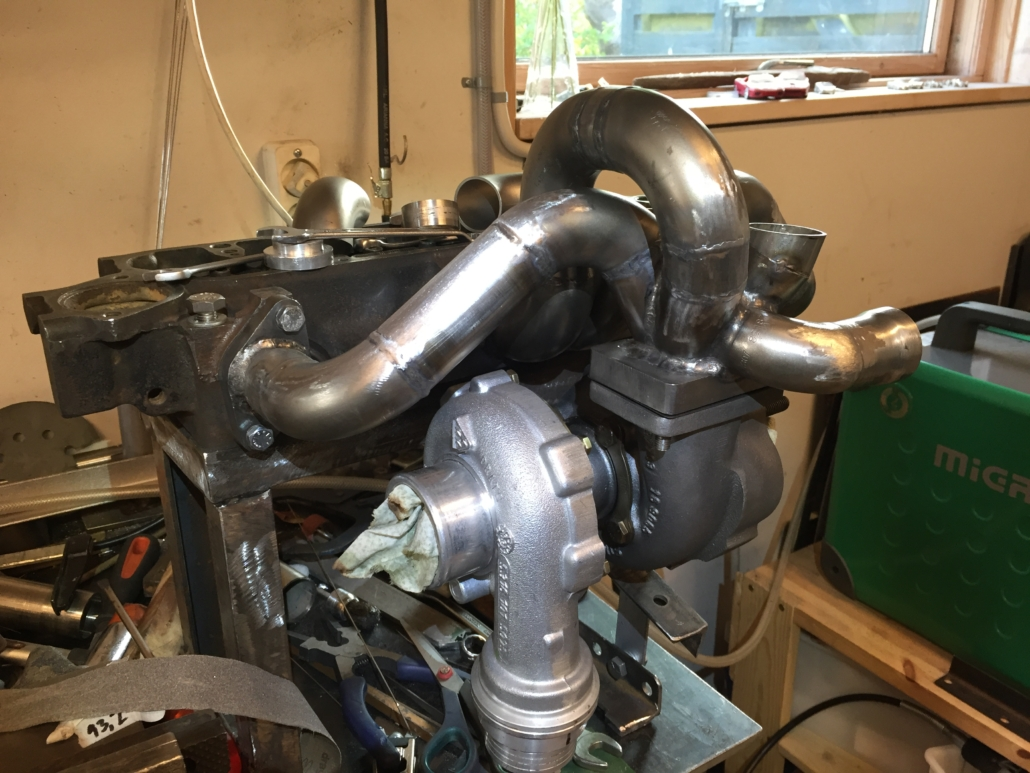 MK3 manifold partly welded