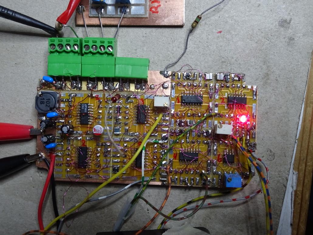 TQP main electronic board