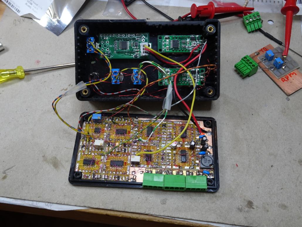 TQP Display Unit inside