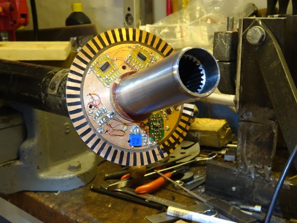 TQP 900 Yoke rotating electronic