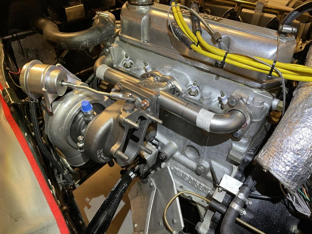 Turbo manifold MK4 and Mitsubishi turbo test set-up