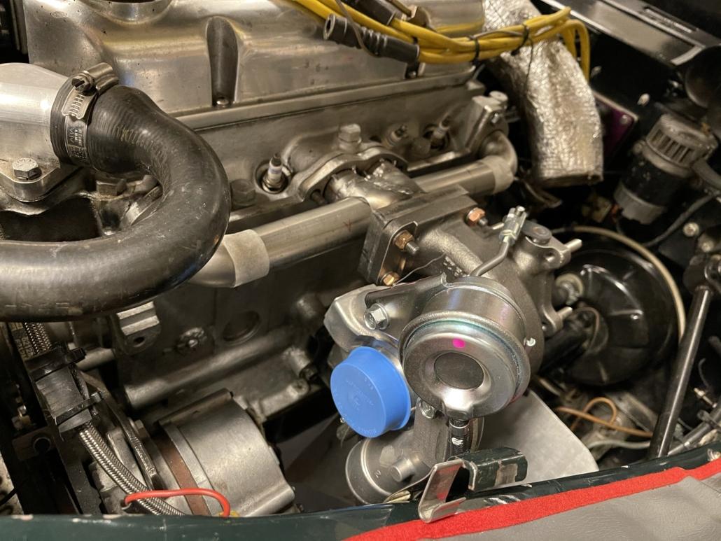 Turbo manifold MK4 test before welding