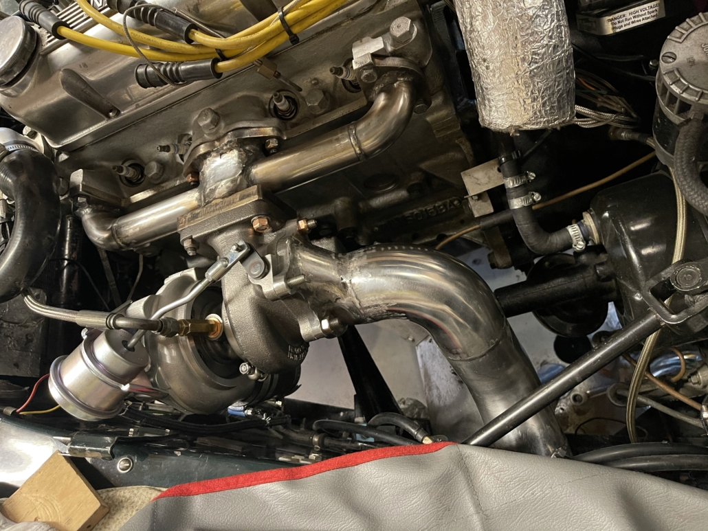 Turbo manifold MK4 installation testing